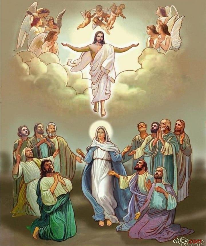 Bonne fête de l'ascension