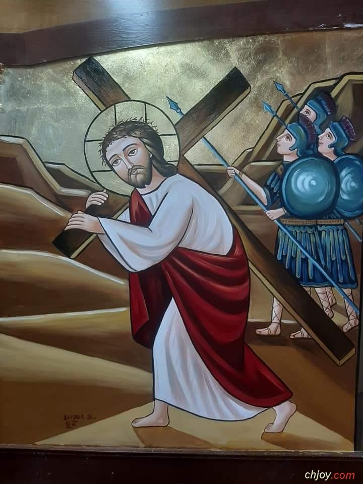 ✝أيقونة حمل الصليب✝