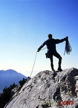 معجزة مع متسلق جبل