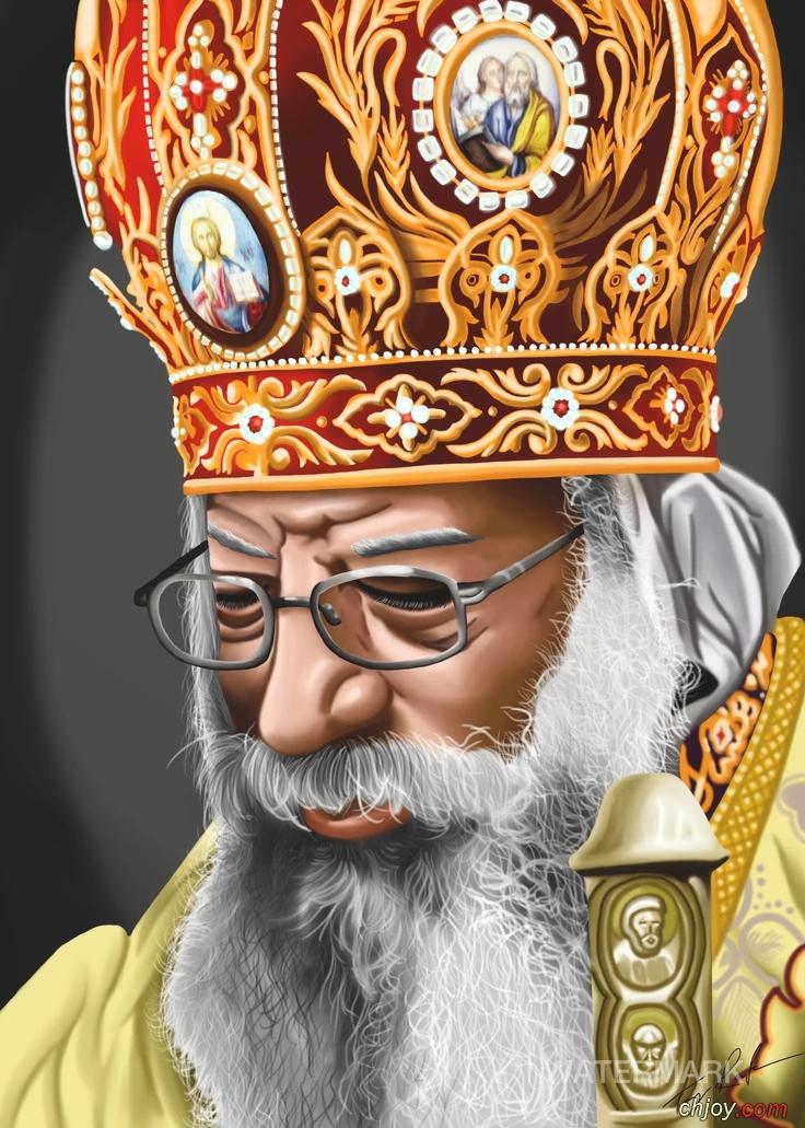 البابا تواضروس ينعى كاهن كنيسة السيدة العذراء بالمنيا