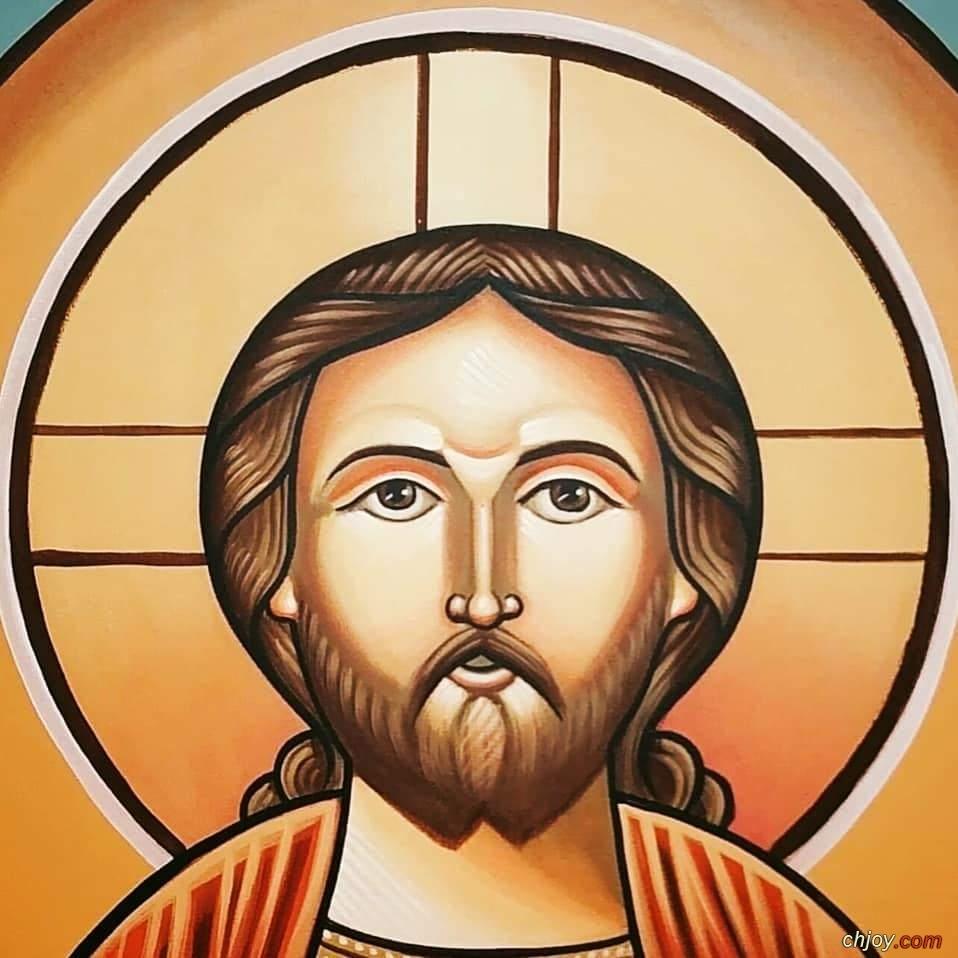 يسوع المسيح ضابط الكل / بالقبطي